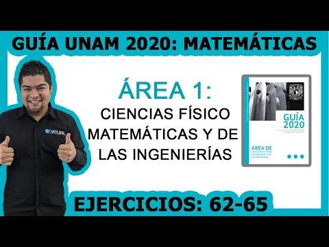 guía-unam-2020-Área-1-matemáticas-(62-65)-|-video-9-de-12