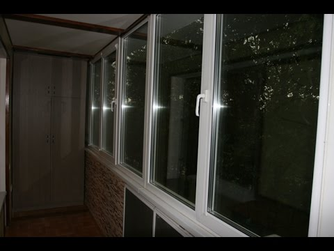 Пример ремонта балкона в башне вулыха от (арс-балкон) - yout.