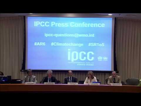 The 44th Session of the IPCC press conference