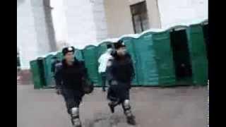 Внутрішні війська. Втеча з Майдану
