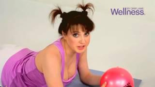 Слуцкая и Wellness  Комплекс физических упражнений для похудения