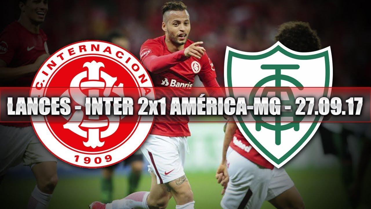 MELHORES MOMENTOS - INTERNACIONAL 2x1 AMÉRICA-MG - 27.09 ...