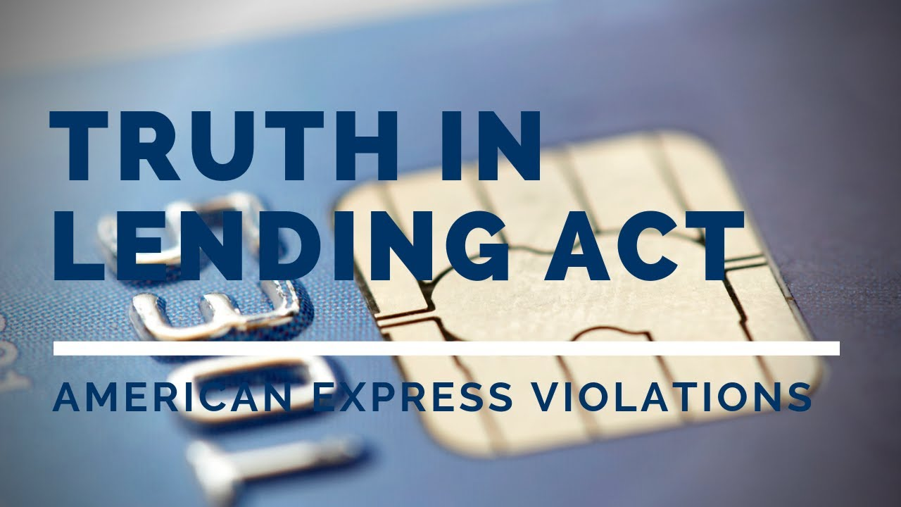 Truth in Lending Act (TILA) Violations • Carlson Law Firm