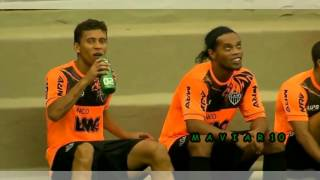 Ronaldinho Gaucho Freestyle legend - football rare  skills warm up training - part2