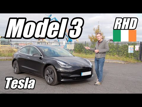 Tesla Model 3 review Ireland | Is it worth the wait for Right-hand drive?