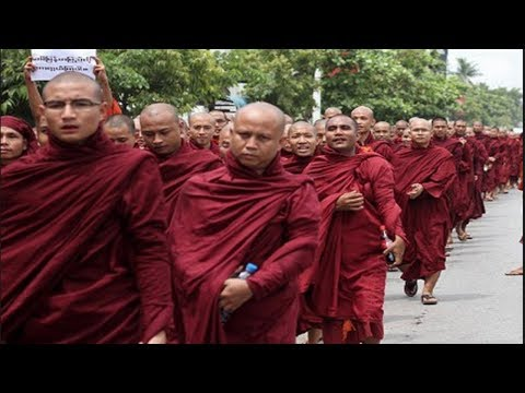Buddhist killing Raping Muslims in Myanmar Monks justifying it with Buddhism