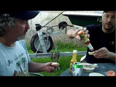Island Doctors Habanero Hot Sauce - Smilling Bob's Smoked Fish Dip Review - Key West