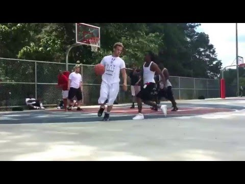 Pine log annual All-Star game Highlights. Sick Dunks & Lottery Potential!