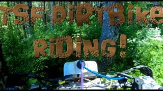 Tillamook State Forest (TSF) Trail Riding 1983 Maico 490 (Dirtbike Riding: S5 E4)
