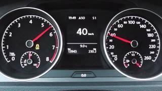 2013 volkswagen golf vii 1 4 tsi 122 hp 0 100 km h 0 100 mph acceleration