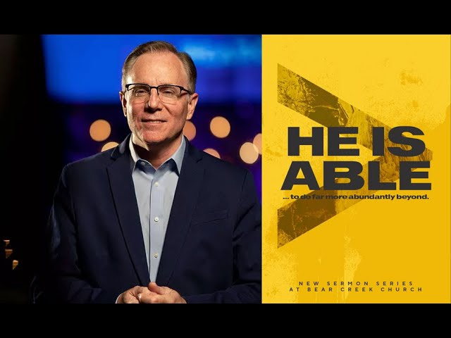 """""""He Is Able: The power that turns Knowing into Experience"""" Pastor David Welch"""