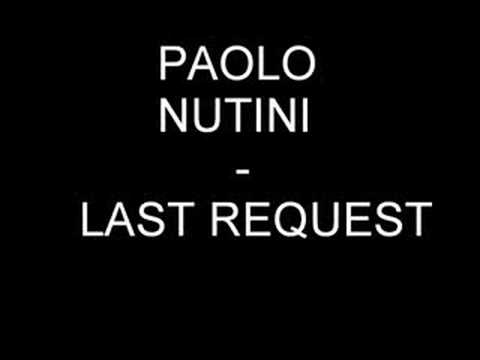 Paolo Nutini  Last Request Radio Edit