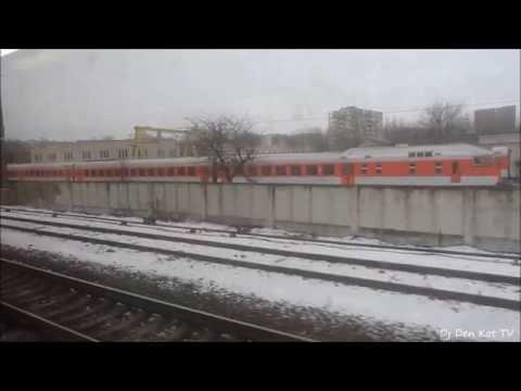 Klaipeda - Vilnius train trip