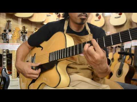 AYERS 18INCH ARCHTOP PROTOTYPE@guitarshoptantan