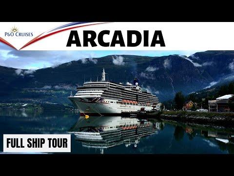 P&O Arcadia Ship Tour - A Full Ship Tour Of Arcadia