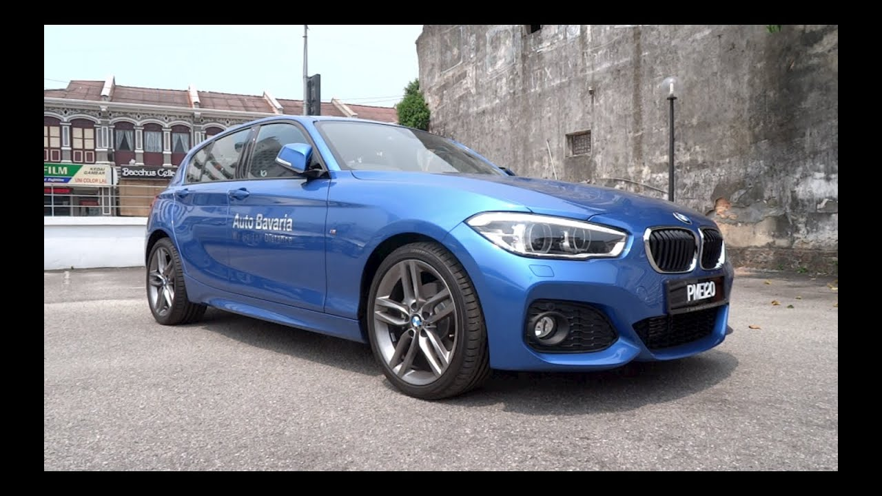 2015 bmw 120i m sport 5 door start up and full vehicle. Black Bedroom Furniture Sets. Home Design Ideas