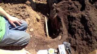 Building Raised Garden Beds: Installing Drip Irrigation Part 1