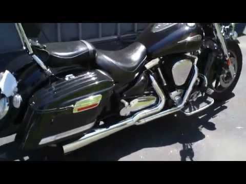 Mutazu Saddlebags ( 2005 Yamaha Road Star ) HL Hard Bags  YouTube