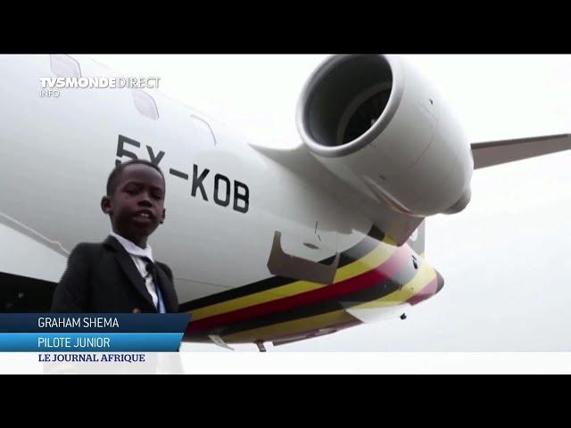 Ouganda :  pilote à sept ans !