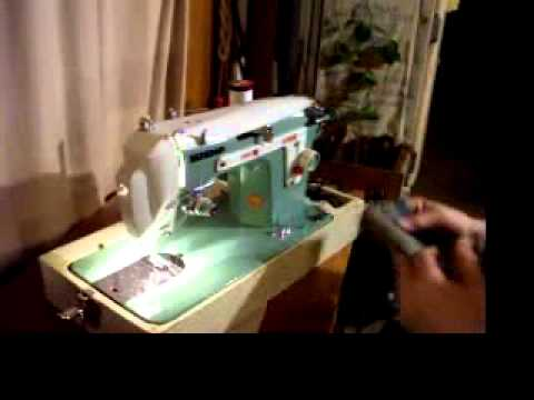 Beautiful Janome New Home Manual Zigzag Sewing Machine