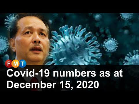Covid-19 Numbers As At December 15, 2020