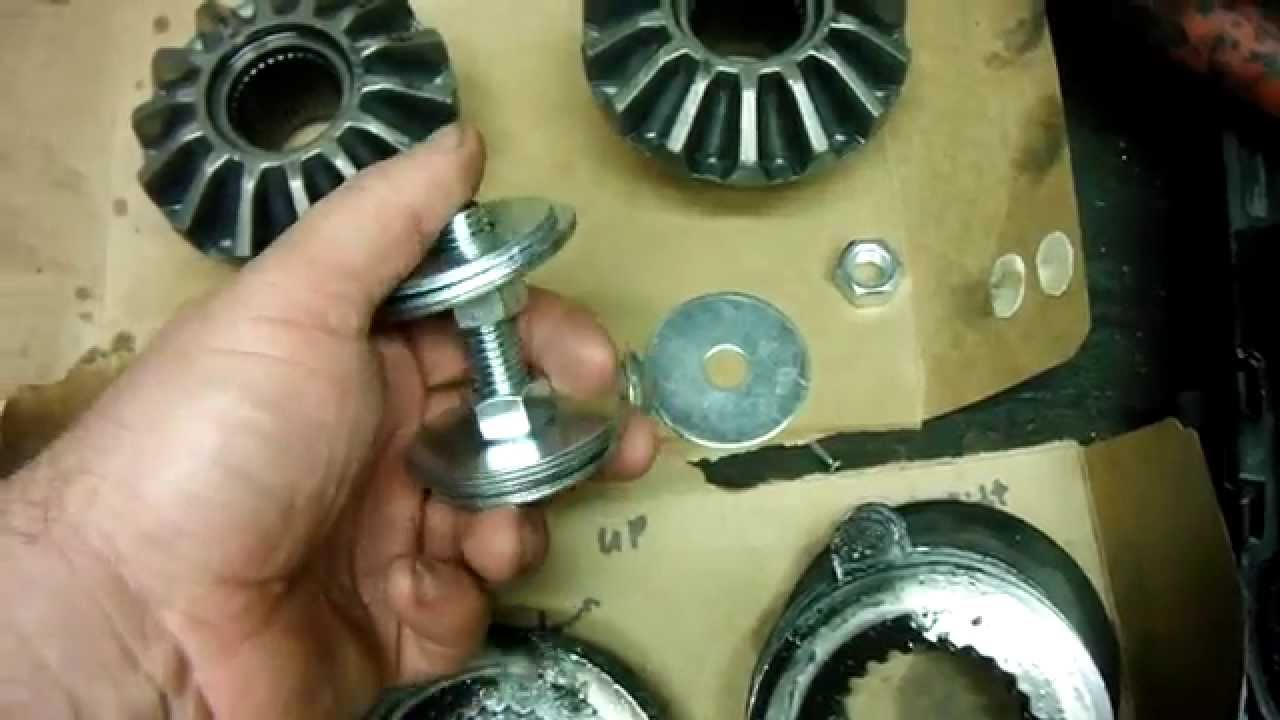 How To Replace F150 975 Clutch Packs Fix Rearend Shudder 2004 Ford Rear End Diagrams 08 Youtube