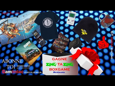 ABONNE TOI POUR GAGNE TA BOXGAME !!!!!!!!!!!!!!!!