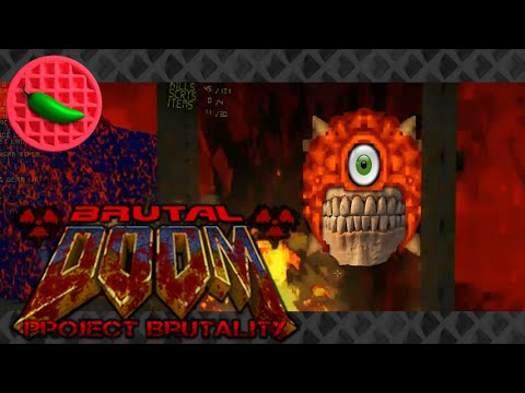 Hell Circumcision -- Let's Play Brutal Doom v20: Project Brutality mod (Part #23) (1080p Gameplay)