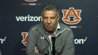 Bruce Pearl reviews Auburn