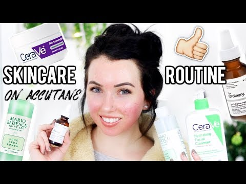 SKIN CARE ROUTINE Morning & Night (Dry Skin & While on Accutane)