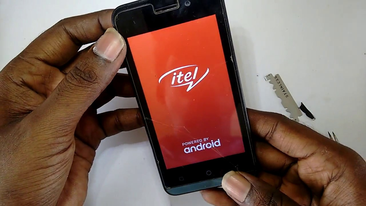 itel mobile a11 light solution working