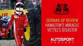 F1 podcast: Hamilton's miracle, Vettel's disaster
