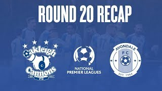 2018 NPL Victoria (Round 20) - Oakleigh Cannons vs Avondale | Highlights | 13.07.2018
