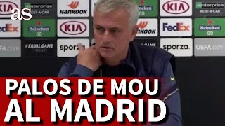MOURINHO elogia a BALE y le da un palo al REAL MADRID | Diario AS