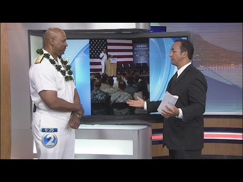 New Rear Admiral discusses his unique Hawaii ties