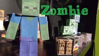 How to Make a Papercraft Minecraft Zombie
