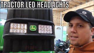 New Tractor Led Headlights From Larsen Lights