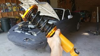 Video Dropping my Miata on eBay coilovers download MP3, 3GP, MP4, WEBM, AVI, FLV Agustus 2018