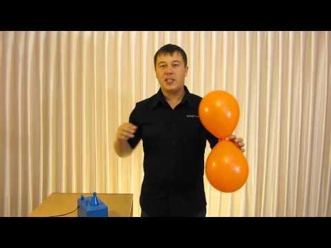 Как связать шары между собой пошаговая инструкция