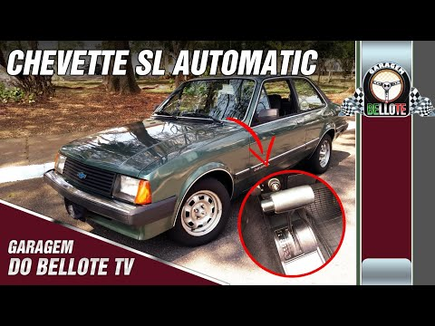 Chevette SL Automatic 1986: 100 Mil Km Na Mesma Família | Garagem Do Bellote TV
