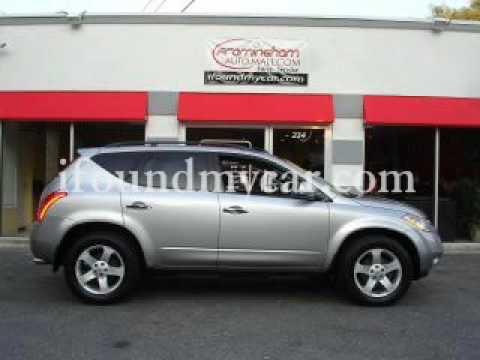 2003 Nissan Murano SL AWD! Framingham Auto Mall