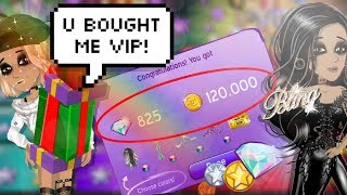 FRIEND SURPRISES ME WITH A DIAMOND PACK ON MSP?!