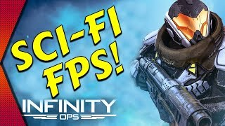 Infinity Ops - MULTIPLAYER SCI-FI FPS ON MOBILE! | MGQ Ep. 178