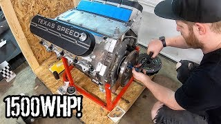 Installing a New 1500WHP LS V8 Into Our Huracan