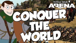 Trying To Conqer The World on Total War ARENA Open Beta