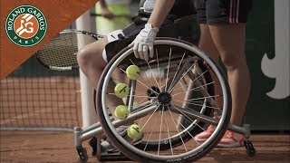 La Leçon de Tennis en Fauteuil   Roland-Garros