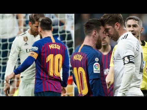 El Clásico - Real Madrid Vs FC Barcelona (Best Fights,fouls,and Red Cards)