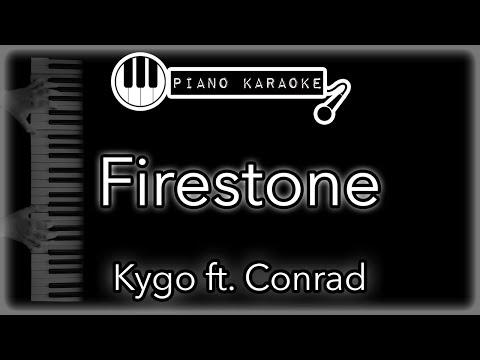 Firestone - Kygo Ft. Conrad - Piano Karaoke