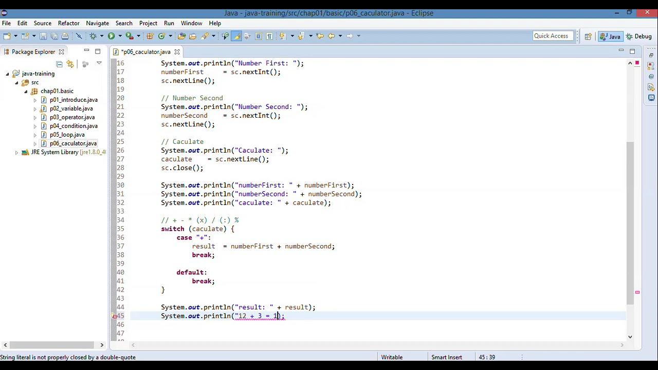 29 Lập trình Java   29 Xây dựng chương trình máy tính bỏ túi P2