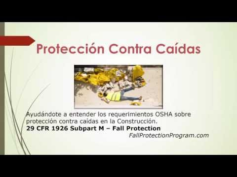 (Spanish) OSHA Fall Protection Program and Fall Protection Training in Spanish